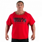 Classic Workout Top, tango red, Gorilla Wear