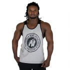 Roswell Tank Top, grey/black, Gorilla Wear
