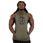 Lawrence Hooded Tank Top, army green, Gorilla Wear