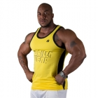 Stretch Tank Top, gul, Gorilla Wear