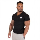Essential V-Neck Tee, black, Gorilla Wear