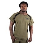 Augustine Old School Work Out Top, army green, Gorilla Wear