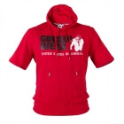 Boston Short Sleeve Hoodie, red, Gorilla Wear
