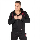 Classic Zipped Hoodie, black, Gorilla Wear