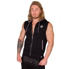 Springfield S/L Zipped Hoodie, black, Gorilla Wear