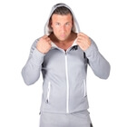 Bridgeport Zipped Hoodie, silver blue, Gorilla Wear