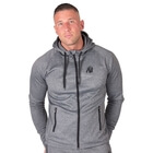 Bridgeport Zipped Hoodie, dark grey, Gorilla Wear