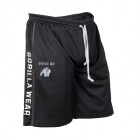 Functional Mesh Shorts, svart/vit, Gorilla Wear