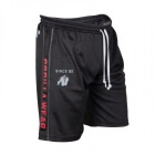 Functional Mesh Shorts, svart/röd, Gorilla Wear