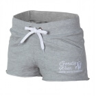Women's New Jersey Sweat Shorts, grey, Gorilla Wear