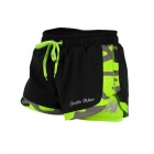 Denver Shorts, black/lime, Gorilla Wear