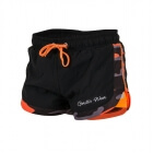 Denver Shorts, black/orange, Gorilla Wear