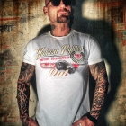 Fighter Tee, white, Yakuza