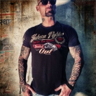 Fighter Tee, black, Yakuza