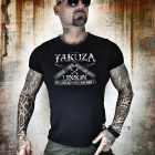 Union Tee, black, Yakuza