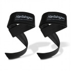 Big Grip Padded Lifting Straps, black, Harbinger