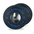 Competition Bumper Plates, 2 x 20 kg, AllStrength