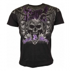 Screaming Skull Tee, black, Tapout