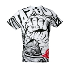 Rising Fist Tee, white, Tapout