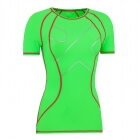 Ladies High Compression Tee, green gekko, MXDC