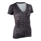 Ladies Big V-Neck Tee, tin foil, MXDC