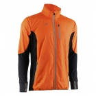 Men Hybrid Jacket, orange/black, MXDC