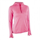Ladies Workout LS Hood, pink, MXDC