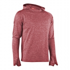 Men Work Out LS Hood, red, MXDC