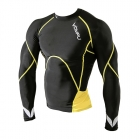 Multisport Compression Top, black/yellow, OMPU