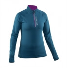 Run Halfzip LS Women, storm blue, Salming Sports