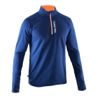 Run Halfzip LS Tee Men, navy, Salming Sports