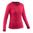Run L/S Top Women, bright rose, Salming Sports