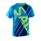 Running Tee Men, cyan/navy, Salming Sports