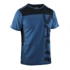 Run Legend Tee Men, blue mist melange, Salming Sports