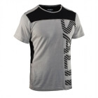 Run Legend Tee Men, stone melange, Salming Sports