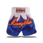 Thai shorts, bl�/vit, Fighter