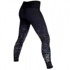 Gazelle Compression Tights, svart, Fighter