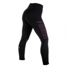 Arrosa Compression Tights, svart/rosa, Fighter