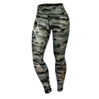 Commando Leggings, green/mixed, Anarchy Apparel