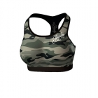Commando Sports Bra, green/mixed, Anarchy Apparel