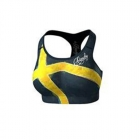 Svea Sports Bra, blue/yellow, Anarchy