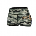 Commando Hotpants, green/mixed, Anarchy Apparel