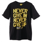 Never Give In Tee, black, Iron Fist