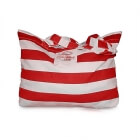 Big Beach Bag, red comb, Marine
