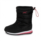 Snöå Junior Snow Boot, black/diva pink, 2117