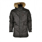 Parka With Hood, black, True North