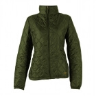 Quilted Jacket, spruce green, Marine