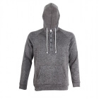 Ljungby Wave Fleece Hood, dark grey, 2117