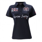 Polo Piquet, navy, Marine