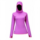 Running Top Long Sleeve, cerise melange, 2117